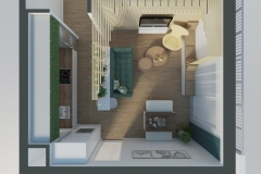 návrh kuchyne s obývačkou/Bratislava
