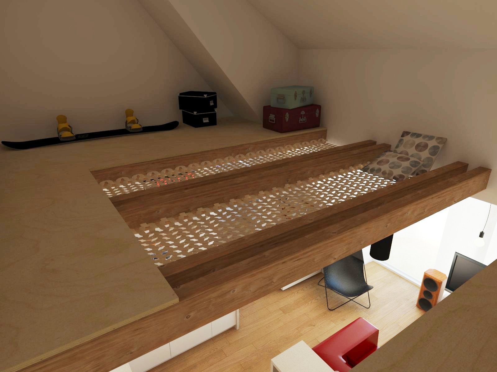 priestor nad kuchyňou