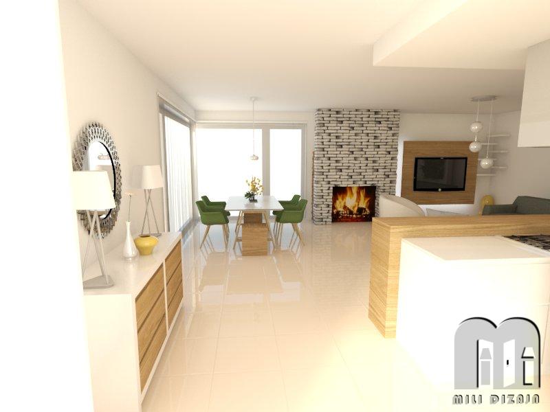 render obývačka 0