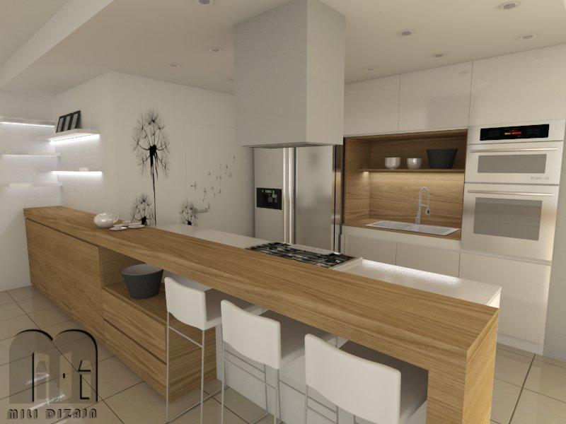 render obývačka 2