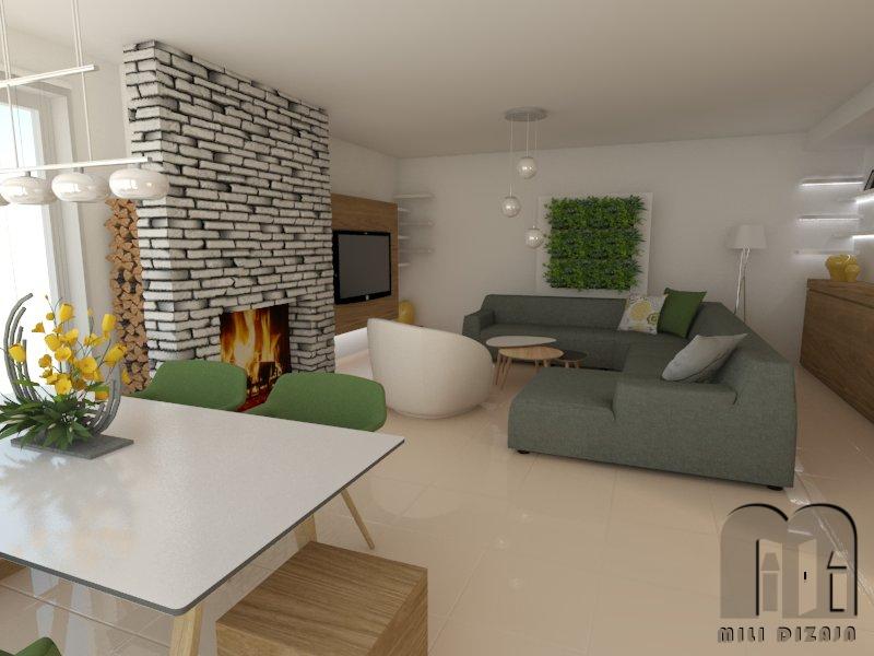 render obývačka 4